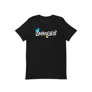 UNHINGED LITTLE BUTTERFLIES T-SHIRT (Black)