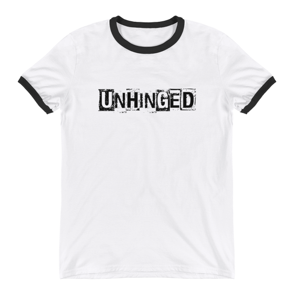 UNHINGED RINGER T-SHIRT (White)