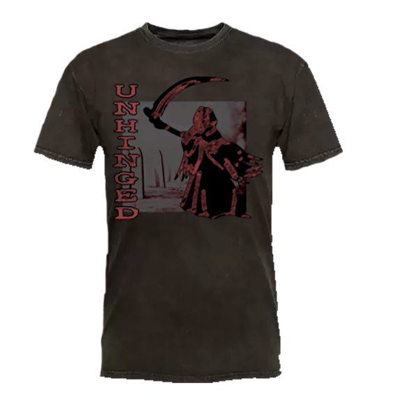 UNHINGED REAPER T-SHIRT (Mineral Black)