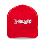 UNHINGED TRUCKER HAT (Red)