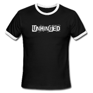 UNHINGED RINGER T-SHIRT (Black)
