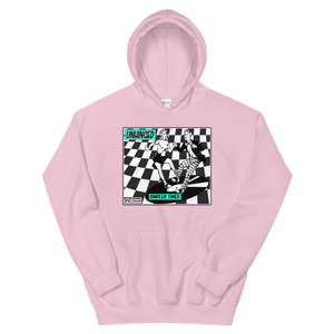 UNHINGED SIMPLE DANCE HOODIE (Pink)