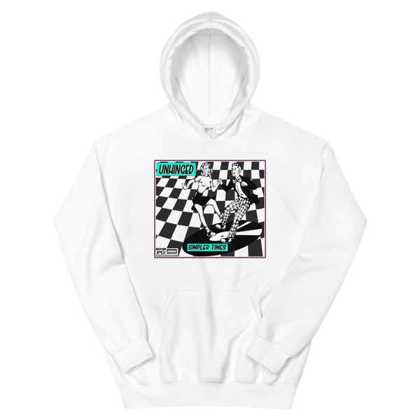 UNHINGED SIMPLE DANCE HOODIE (White)
