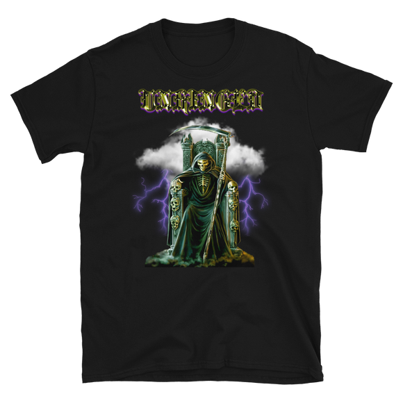 UNHINGED SKELETHRONE T-SHIRT (Black)