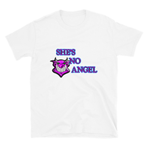 SHE'S NO ANGEL T-SHIRT (White)