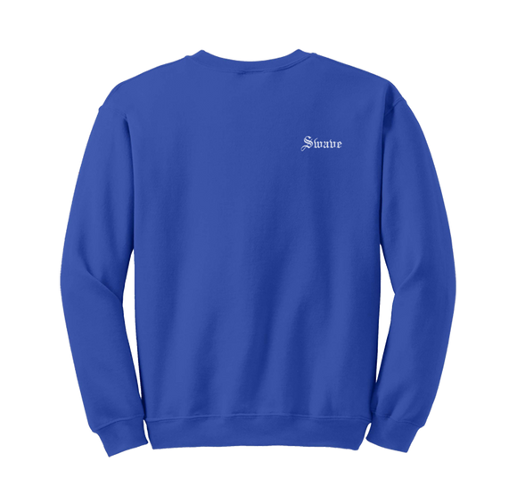 SWAVE OLD ENGLISH CREWNECK (Royal Blue)