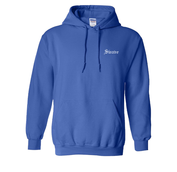 SWAVE OLD ENGLISH HOODIE (Royal Blue)
