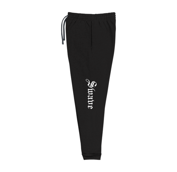 SWAVE OLD ENGLISH JOGGERS (Black)