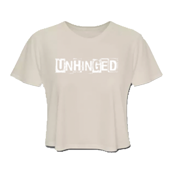 UNHINGED CROP TOP (Cream)