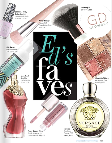 Editor's Favourites | CosBeauty eMagazine Australia Issue #87