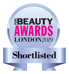 Pure Beauty Awards London 2019 Shortlisted Seal