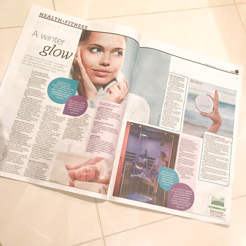 Expert tips for glowing skin this summer - The West Australian article June 2019