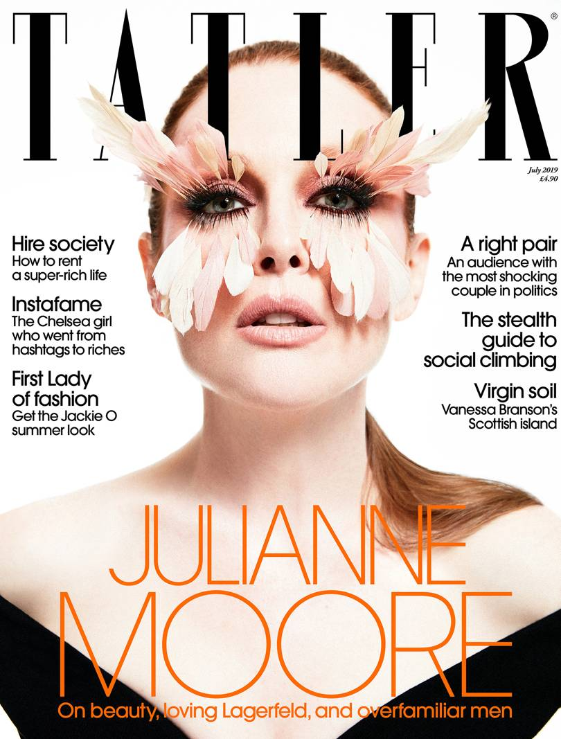 Tatler Beauty Magazine UK - July 2019 Cover