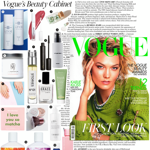 GlowDry Australia British Vogue