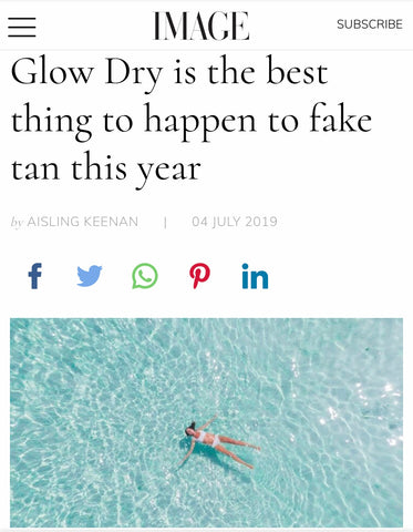 Image.ie best thing tot happen fake tan GlowDry