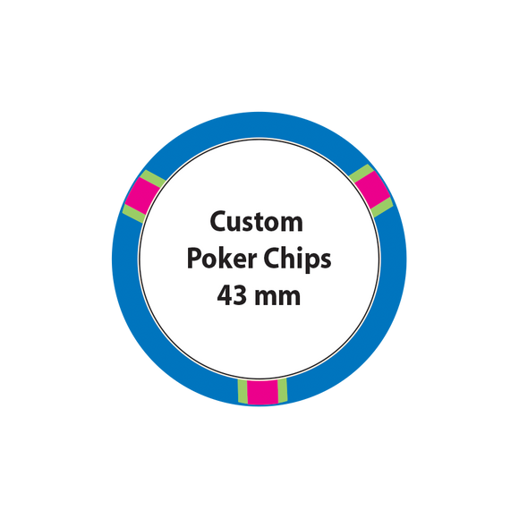 Custom Poker Chips - 43mm