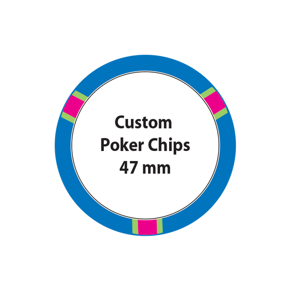 Custom Poker Chips - 47mm