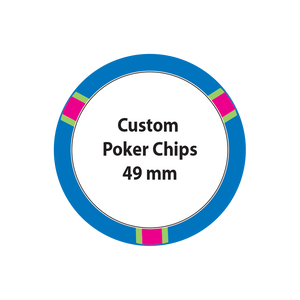Custom Poker Chips - 49mm