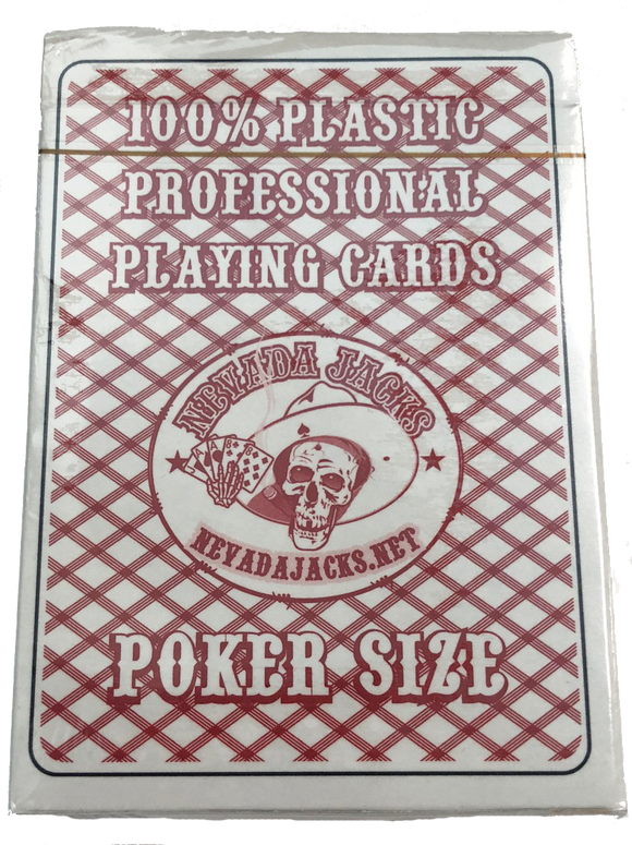 Nevada Jacks Plastic Playing Cards - 1 Dozen