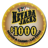 "Nevada Jacks ""Saloon Series"" Chips"