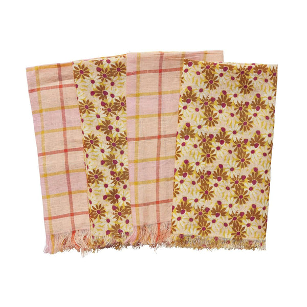 Abelle Napkin Set - Peach