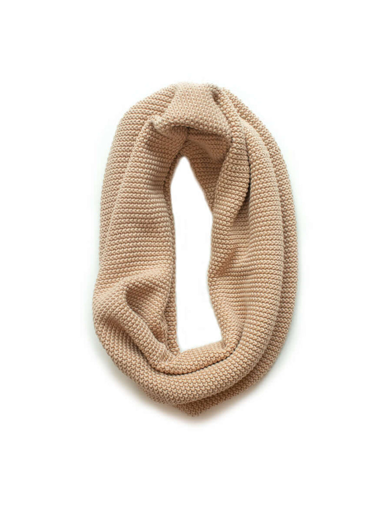 Moss Stitch Loop Scarves