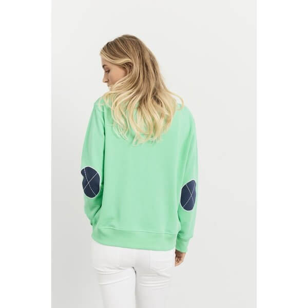 Classic Windy EST 1971 Jumpers - Apple Green with Old Navy