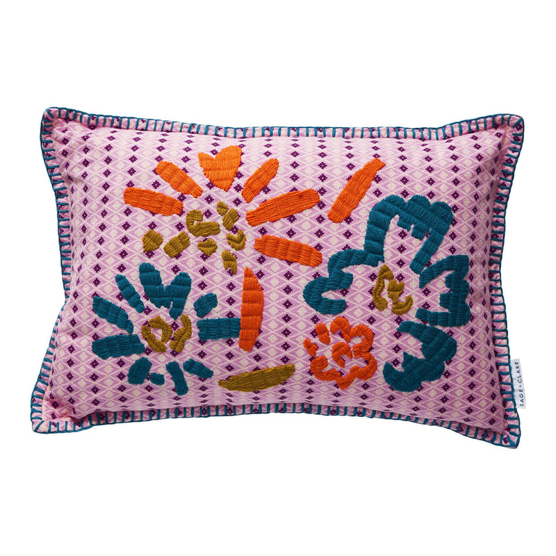 Georgie Embroidered Cushion