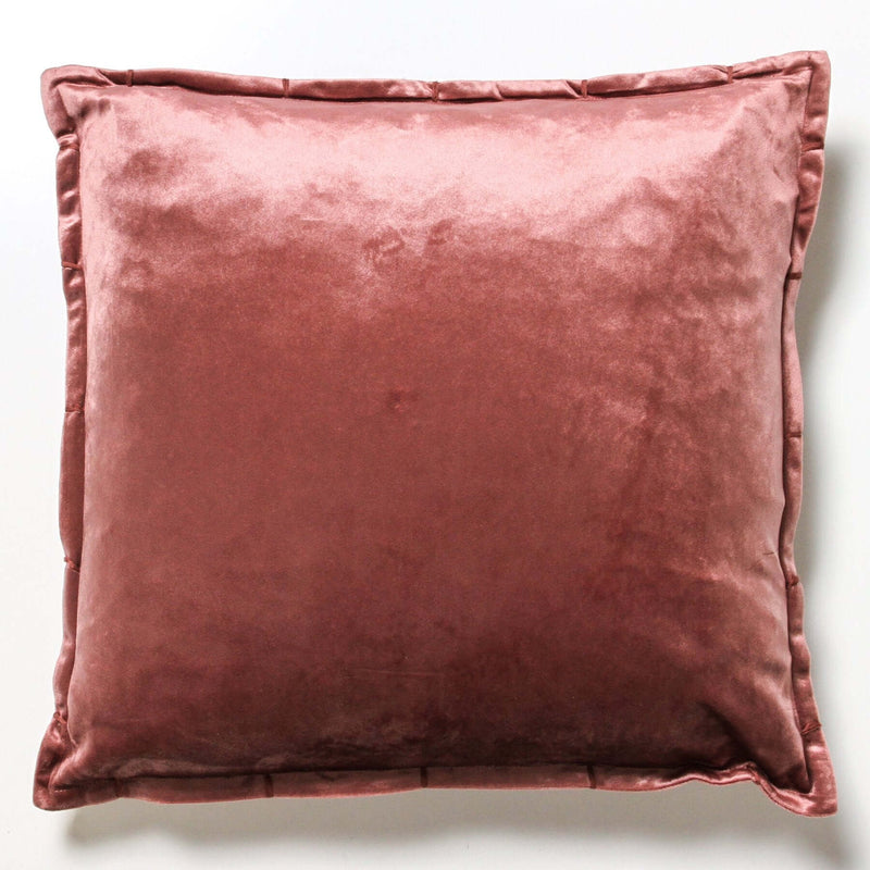 Velvlux Cushion - Plum