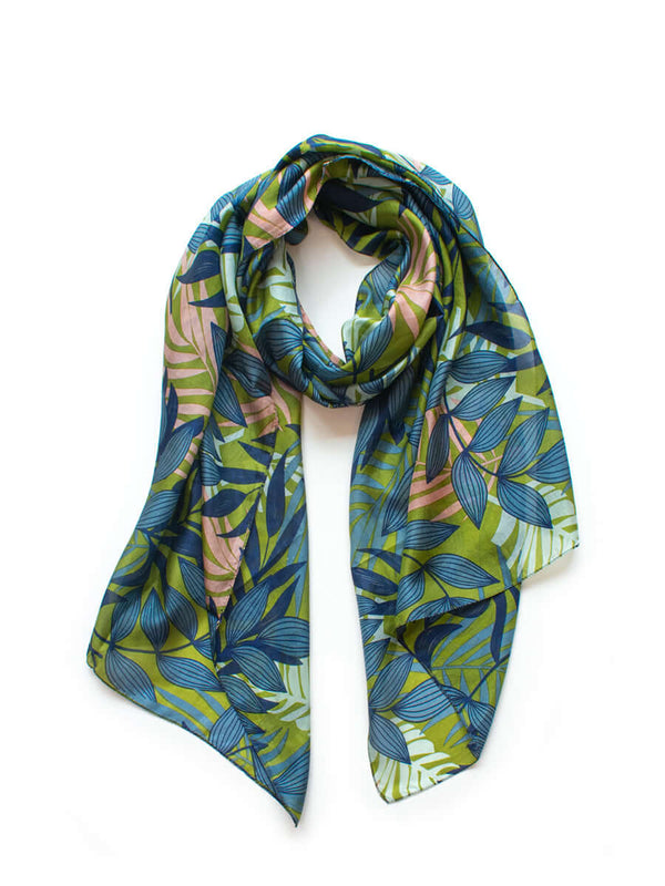 Leafy Palm Scarves