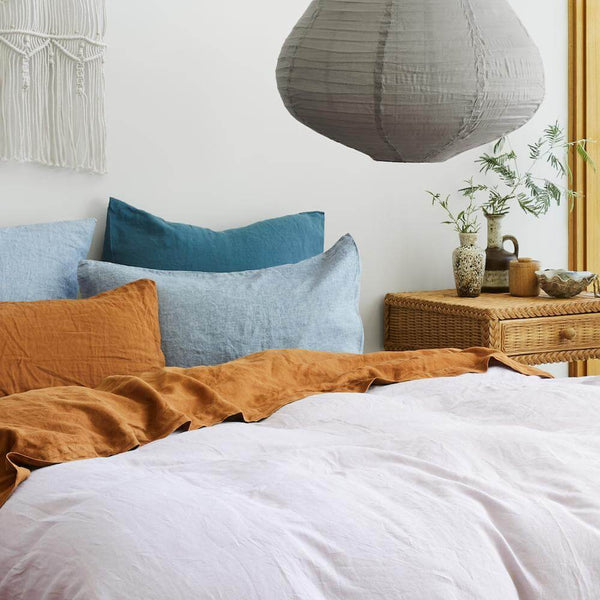 Linen Euro Pillowcase set