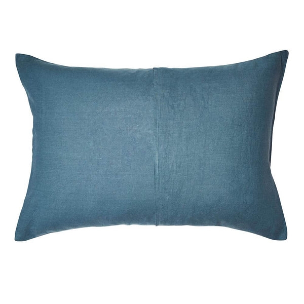 Linen standard pillowcase set
