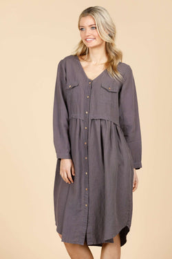 Ronson Dress - Sable