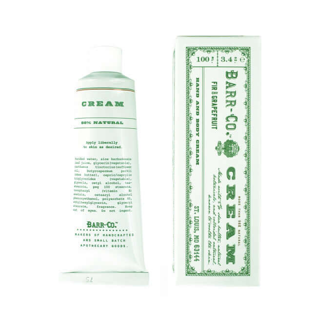 Barr-Co Hand Cream- tube