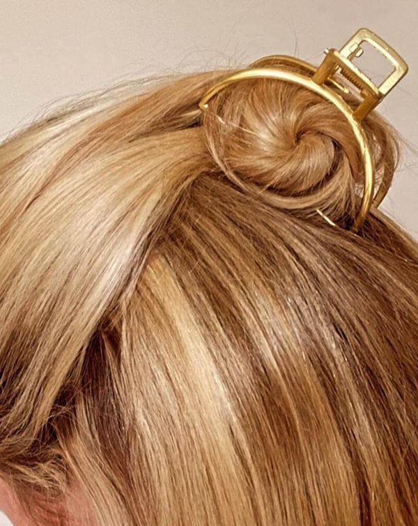 Gold Toned Hair Claw