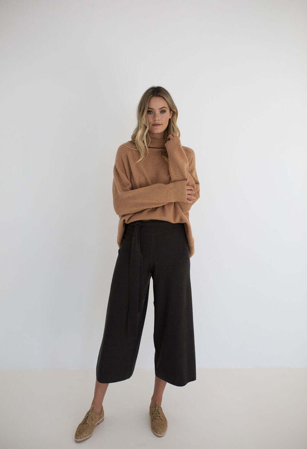 Harley Knit Pant - Black