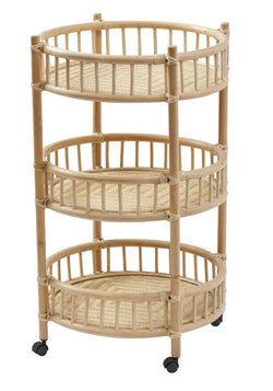 Porton Drinks Trolley Natural
