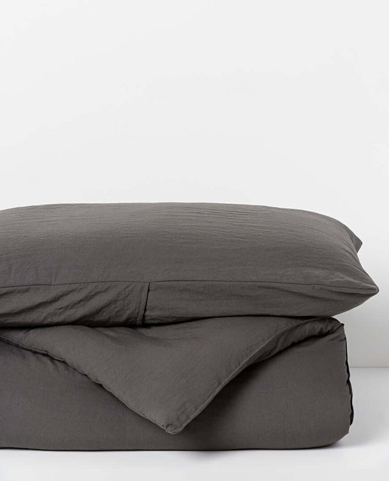 Serra Microfibre Quilt & Pillowcase Set