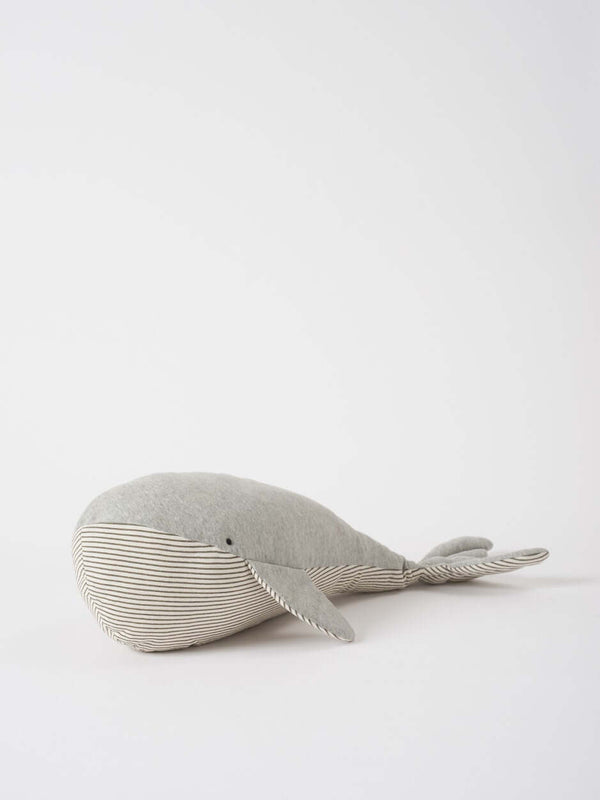 Wilfred The Whale Grey
