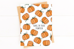 Hang In There Pumpkin Encouragement Card