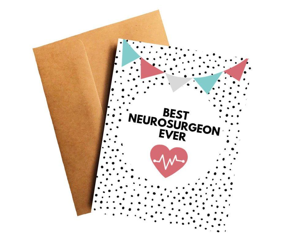 Best Neurosurgeon Ever Doctor Thank You Card Better and Co.