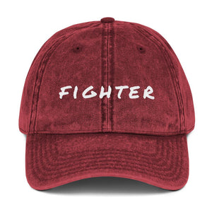 Cancer Fighter Baseball Cap Better and Co. Maroon
