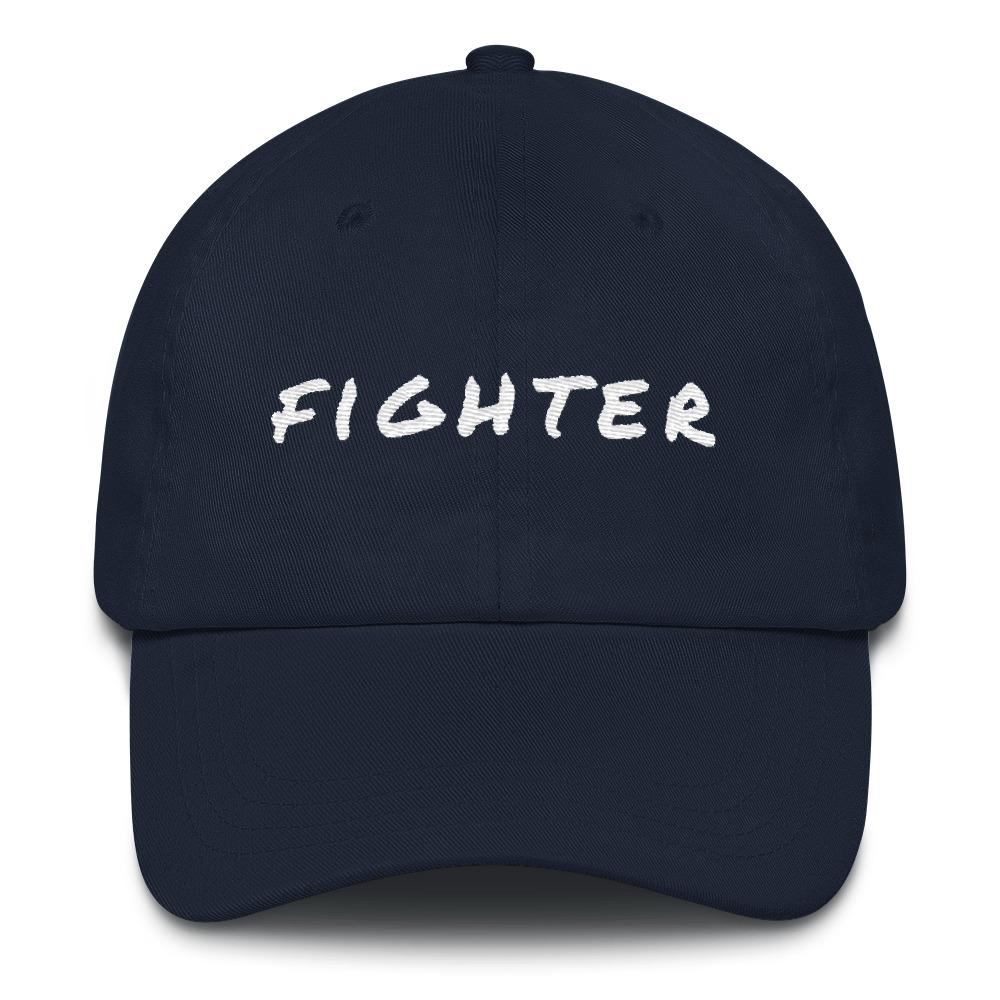 Cancer Fighter Baseball Cap Better and Co. Navy