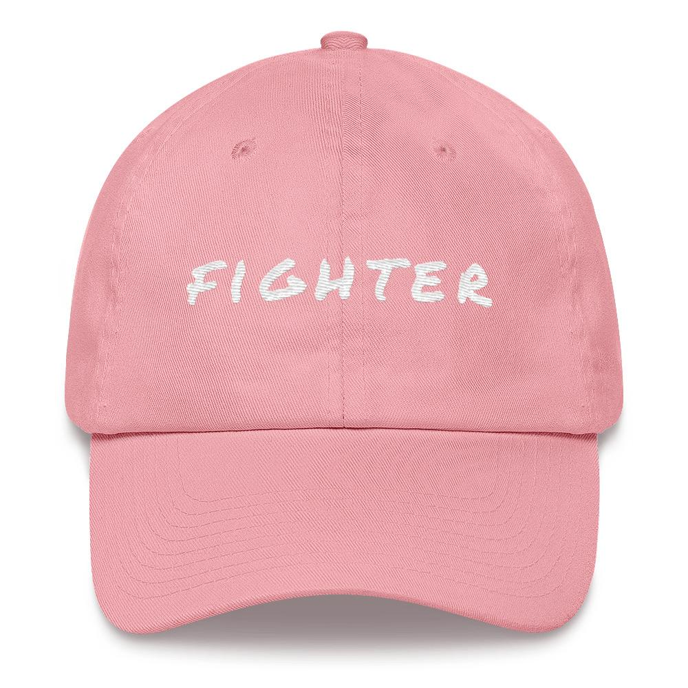 Cancer Fighter Baseball Cap Better and Co. Pink