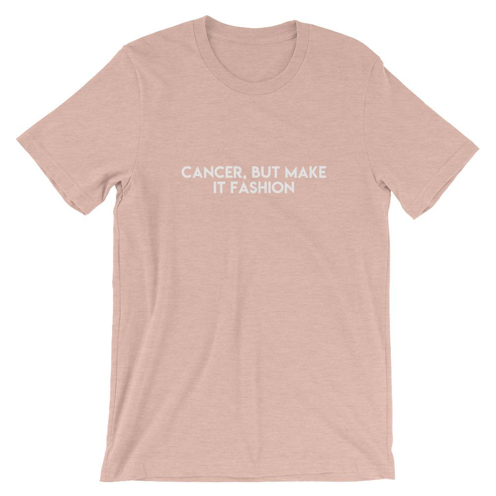 Cancer Survivor Short-Sleeve Unisex T-Shirt Better and Co. Heather Prism Peach XS