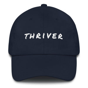 Cancer Thriver Baseball Cap Better and Co. Navy