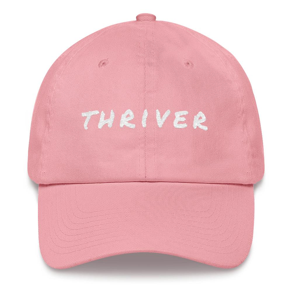 Cancer Thriver Baseball Cap Better and Co. Pink