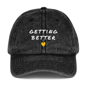 Getting Better Baseball Cap Better and Co. Black
