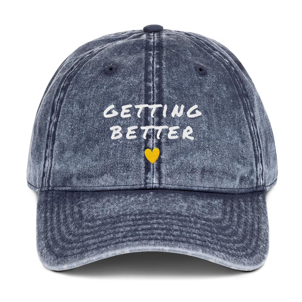 Getting Better Baseball Cap Better and Co. Navy