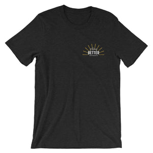 Getting Better Short-Sleeve Unisex T-Shirt Better and Co. XS